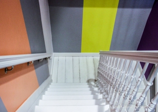 Farbspiele im Treppenhaus II