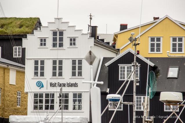 Die Haupstadt der Färöer: Tórshavn