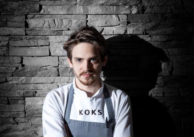 Poul Andrias Ziska, Head Chef im KOKS