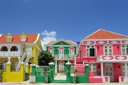 Bunte Häuser in Pietermaai