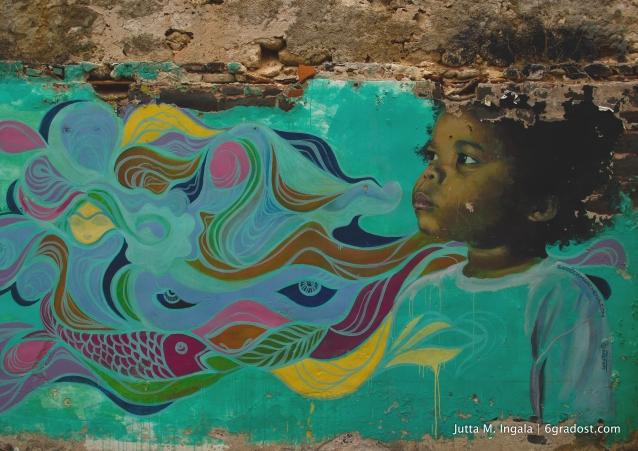 Pure Poesie: Mural von Garrick Marchena und Valerie Parisius