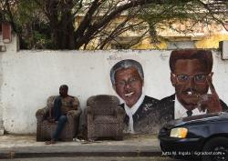 Straßenszene in Otrobanda