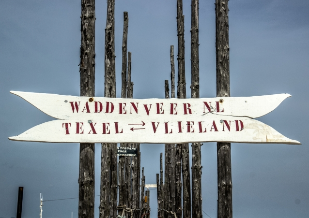Fähranleger Texel-Vlieland
