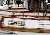 """Nachbau des norwegischen Rettungsschiffes """"Vardo"""" (1909). Von 1977 bis 1984 in Eigenarbeit."""