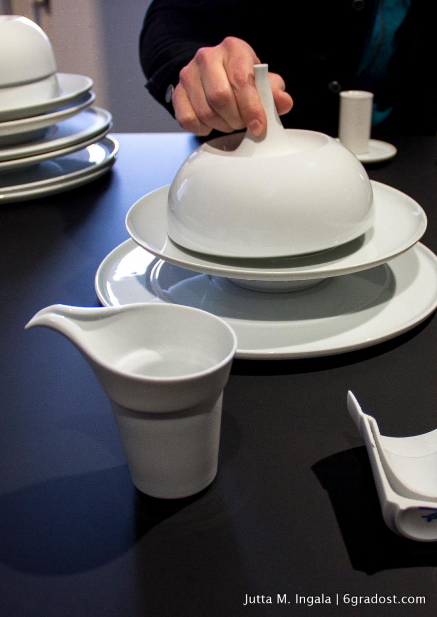 Funktionalität in Liaison mit vollendeter Formgebung: Gourmetgeschirr BLANC