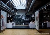 Blick in die Besucherwerkstatt im Museum Schloss Fürstenberg