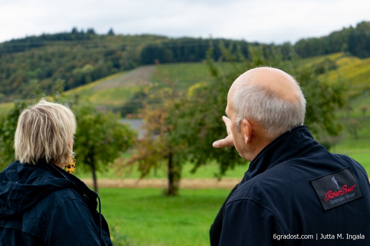 Mit Udo Opel auf dem Breisgauer Weinweg