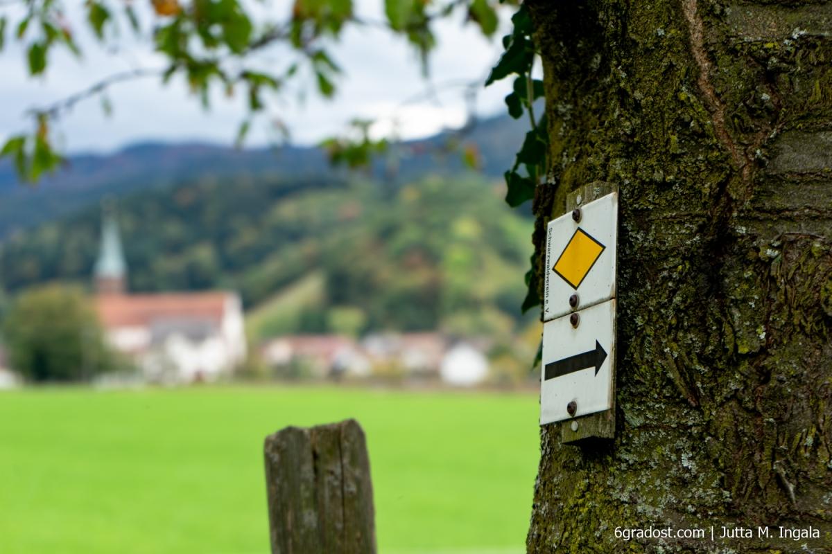 Wanderwege in den Weinbergen