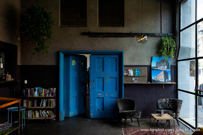 Het Koelhuis - das Kühlhaus: einst Lagerhaus für verderbliche Waren, heute Bar und Eventlocation