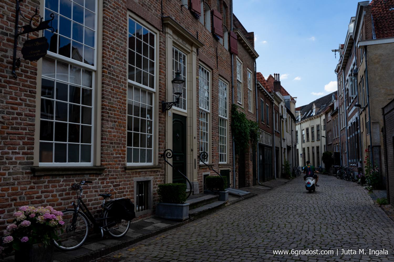 In den mittelalterlichen Gassen der Hansestadt